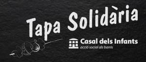 Logotip de la Tapa Solidària del Casal dels Infants