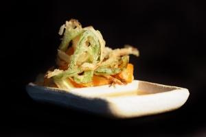 El kakiage de verdures és la tapa solidària del restaurant Icho