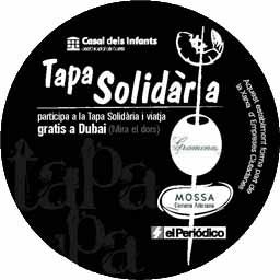 Posagot de la 3a edició de la Tapa Solidària