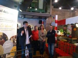 Lluís Prats, vicepresident del Casal, presenta la 3a edició de la Tapa Solidària