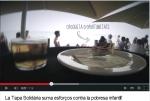Imatge del vídeo de la 3a edició de la Tapa Solidària