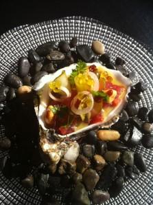 Peix marinat al moment amb encurtits_ Compartir Cadaqués