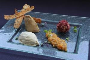 ESHOB_Composició de foie en diferents textures